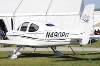 N490PG @ KOSH - Oshkosh EAA Fly-in 2009