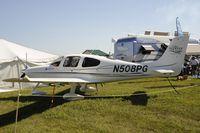 N508PG @ KOSH - Oshkosh EAA Fly-in 2009