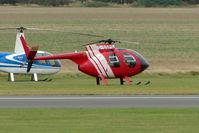 G-GSPG @ EGSU - Visitor to 2009 Helitech at Duxford
