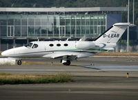 G-LEAB @ LFBO - Ready for take off rwy 14L - by Shunn311