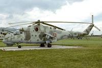 6040 @ LZPW - Slovakia Air Force MilMi-24DU Hind at Presov - by FBE