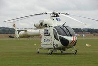 G-11 @ EGSU - Visitor to 2009 Helitech at Duxford