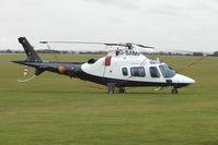 G-SAMP @ EGSU - Visitor to 2009 Helitech at Duxford