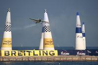 N19ZE - Red Bull Air Race Barcelona 2009 - Yoshihide Muroya - by Juergen Postl