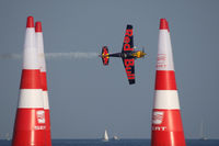 N423KC - Red Bull Air Race Barcelona 2009 - Kirby Chambliss - by Juergen Postl
