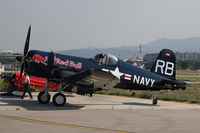 OE-EAS - Red Bull Air Race Barcelona 2009 - Chance Vought F4U