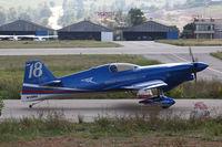 N18RU - Red Bull Air Race Barcelona 2009 - Sergey Rakhmanin