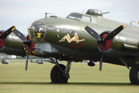 G-BEDF @ EGSU - B-17G - one of the 'stars' of the Imperial War Museum at Duxford