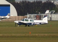 M-PHML @ EGSC - Departing Cambridge - by Andy Parsons