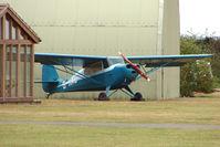 G-IIAC @ EGSU - Aeronca 11AC at Duxford