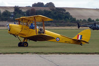 G-ANRM @ EGSU - 1943 Morris Motors Ltd DH82A TIGER MOTH wears Serial DF112 at Duxford