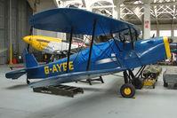 G-AYGE @ EGSU - Stampe SV4C at Imperial War Museum Duxford