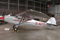 G-AGTO @ EGSU - 1945 Auster Aircraft Ltd AUSTER 5J1- at Imperial war Museum , Duxford