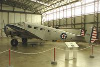 G-BKGL @ EGSU - 1952 Beech BEECH 3TM, c/n: CA-164 at Imperial War Museum Duxford