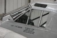 G-BKGL @ EGSU - 1952 Beech BEECH 3TM, c/n: CA-164 inscriptions on aircraft at Imperial War Museum , Duxford