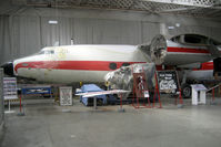 G-ALZO @ EGSU - Airspeed Ltd AS57 AMBASSADOR 2 at Imperial War Museum under restoration