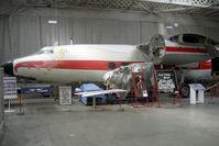 G-ALZO @ EGSU - Airspeed Ltd AS57 AMBASSADOR 2 at Imperial War Museum under restoration