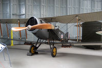 E2581 @ EGSU - Genuine WWI Bristol F2B Fighter - preserved at Imperial War Museum , Duxford