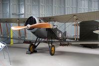 E2581 @ EGSU - Genuine WWI Bristol F2B Fighter - preserved at Imperial War Museum , Duxford