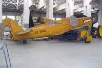 SE-BRG @ EGSU - Fairey Firefly ex DT989 - restoration at Imperial War Museum , Duxford