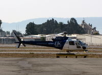 N110TV @ KHWD - Slightly different markings on Eyewitness News 5 CBS 1988 Aerospatiale AS350BA - by Steve Nation