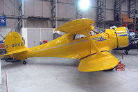 G-BRVE @ EGSU - Becch Staggerwing preserved at Imperial War Museum Duxford