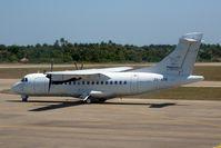 ZS-ATR @ FQVL - Pelican Air ATR42 at Vilanculos, Mozambique