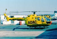 D-HDMA @ EDKB - MBB Bo 105CBS of ADAC Luftrettung (EMS) at Bonn-Hangelar airfield - by Ingo Warnecke