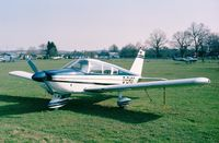 D-EHGC @ EDKB - Piper PA-28-180 Cherokee E at Bonn-Hangelar airfield - by Ingo Warnecke