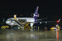 N612FE @ LNZ - FedEx - Federal Express MDD MD11