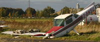G-BMSU @ EGCF - Had the nosewheel collapse on landing - by Paul Lindley