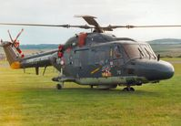 270 @ EGQL - SH-14D Lynx of the Royal Netherlands Navy Heligrp on display at the 2000 Leuchars Airshow. - by Peter Nicholson