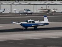 N50BJ @ KSMO - N50BJ departing from RWY 21 - by Torsten Hoff