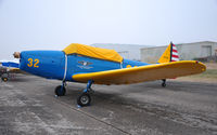 N40265 @ KMAF - Fairchild M-62A on the training ramp during CAF Airsho 09. - by TorchBCT