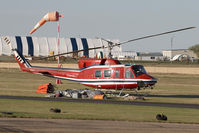 C-FJUT @ CEX3 - Campell Helicopters Bell 212 - by Andy Graf-VAP