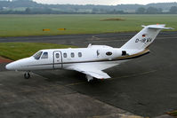 D-IBWA @ EGBO - Cessna 525 CitationJet - by Robert Beaver