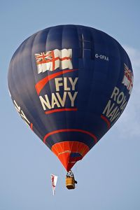 G-OFAA - Named Royal Navy/Fly Navy Bristol Balloon Fiesta 2009