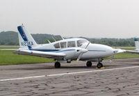 N123KA @ KDAN - 1966 Piper PA23-250 in Danville Va. - by Richard T Davis