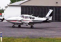 N40510 @ KDAN - 1973 Piper PA-23-250 in Danville Va. - by Richard T Davis