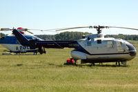 SE-HSG @ ESOW - Bo105CB helicopter at Västerås Hässlö airport, Sweden. - by Henk van Capelle