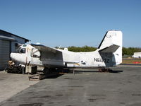 N6193N @ 1O2 - Derelict 1952 Grumman TF-1(C-1A) at Lampson Field - by Steve Nation
