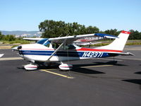 N42371 @ 1O2 - Oregon-based 1968 Cessna 182L visiting @ Lampson Field - by Steve Nation