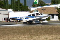 N47694 @ 1O2 - Locally-based 1977 Piper PA-28-181 rolling out on RWY 10 - by Steve Nation