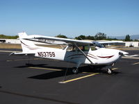 N53759 @ 1O2 - Portland, OR-based 1981 Cessna 182P visiting Lampson Field - by Steve Nation
