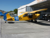N84750 @ 1O2 - Hmmm ... Locally-based 1946 Aeronca 7AC painted as U.S. Navy-585 with 7BCM on tail - by Steve Nation