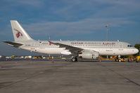A7-ADJ @ VIE - Qatar Airways Airbus 320 - by Dietmar Schreiber - VAP