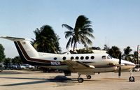 N11ER @ APF - This Beech Super King Air was seen at Naples in November 1979. - by Peter Nicholson