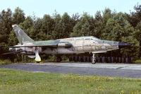 63-8362 @ ETAR - ABDR F-105F, it has surely seen better days - by FBE