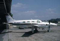 PT-OZY @ SBMT - SBMT W/O 12th Jan 2001 near Uberaba Brazil due to engine problems