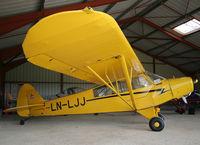 LN-LJJ @ LFCL - Piper Cub based here since many years... - by Shunn311